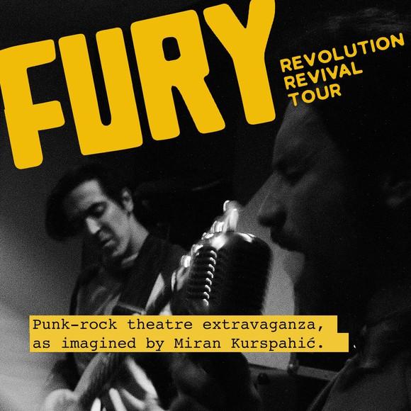 Premijera predstave 'Fury Revolution Revival Tour' u Teatru &TD